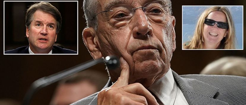Grassley grants Kavanaugh accuser another extension