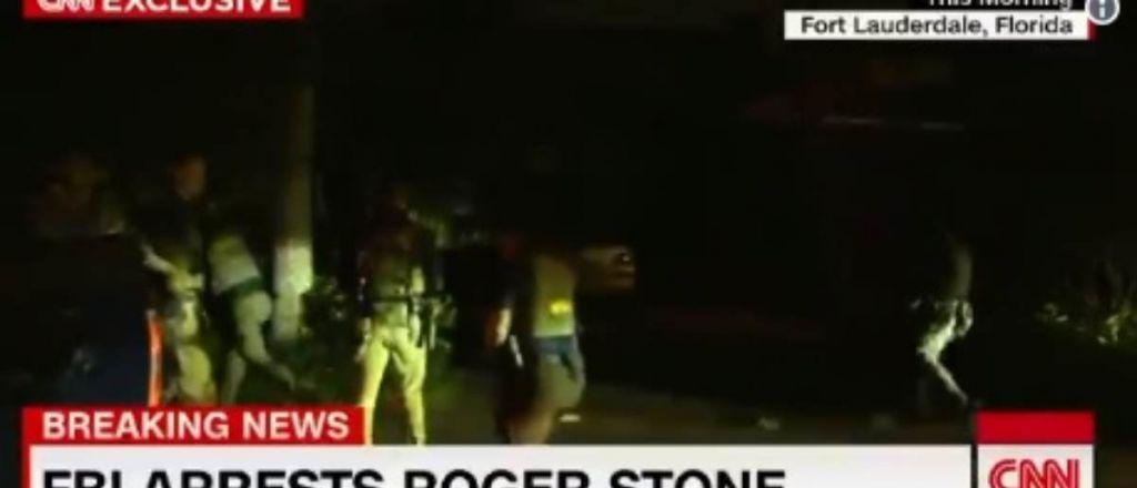 COLLUSION! MUELLER TIPS OFF CNN – Entire Stone Pre-Dawn Raid