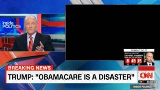 CNN's 'TV Gremlins' Strike Again, Cutting Feed of Obamacare Victim