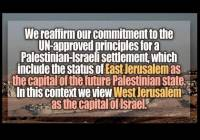 "In surprise move, Russia states that ""West Jerusalem"" is Israel's Capital"